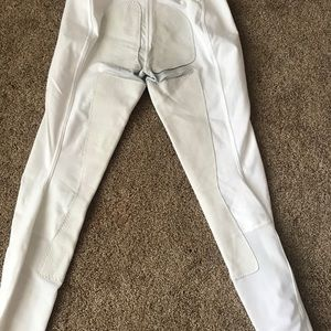 Used white FITS button up full seat XL